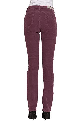 Jeans Es 44 Liso Para Color Pantalones Carrera Terciopelo Mujer TORqq