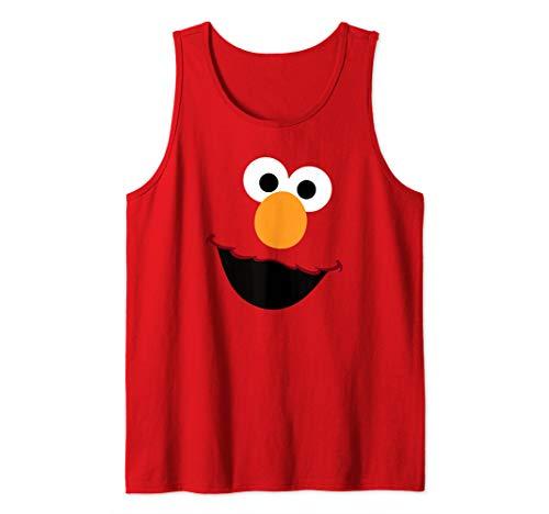 Sesame Street Elmo Face Tank Top