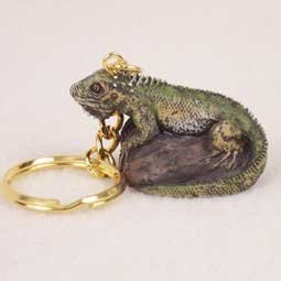 Iguana Key Chain by Conversation Concepts