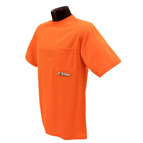 (Radians ST11-NPOS-5X Polyester Mesh Non-Rated Short Sleeve Safety T-Shirt )