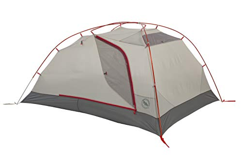 Big Agnes Copper Spur HV2 Expedition Mountaineering Tent, 2 Person, Red