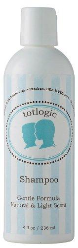 TotLogic Шампунь - сульфат бесплатно, фталат, парабен, DEA, формальдегид, и PEG бесплатно 8FL.OZ / 236ml