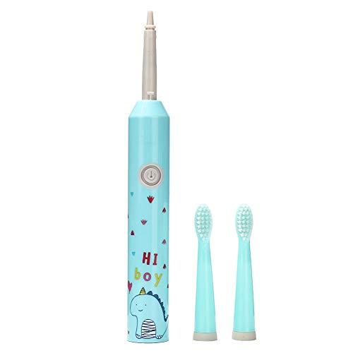 NITRIP IPX7 Wasserdichte elektrische Ultraschall-Reinigungs-Zahnbürste für Kinder(蓝色)