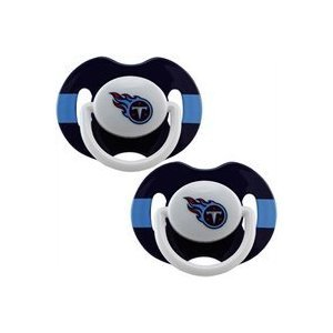 Baby Fanatic NFL Tennessee Titans Baby Fanatic 2-Pack Pacifi