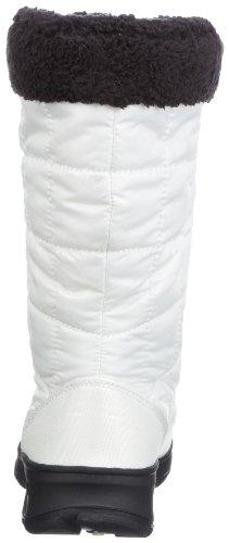 Kamik Newyork NK2028 - Botas de nieve de nailon para mujer Blanco