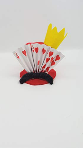 King of Hearts Tiny Top Hat -