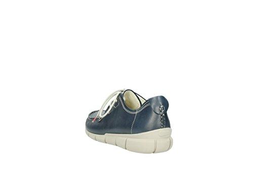 887 Zapatos Tunica Mujer 1502 Leather Cordones De Wolky Para Blue 4E0Tf66
