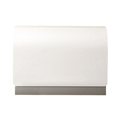 郵便ポスト 郵便受け 壁付けポスト ティーポ 鍵付き カラー:ホワイト B071DTJN17