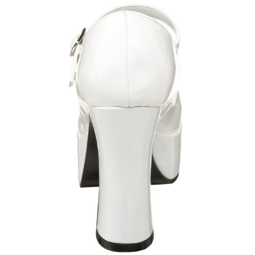 white Jane Bianco Mary Adulto bianco Unisex w Mar50 Pleaser qPAxwRp