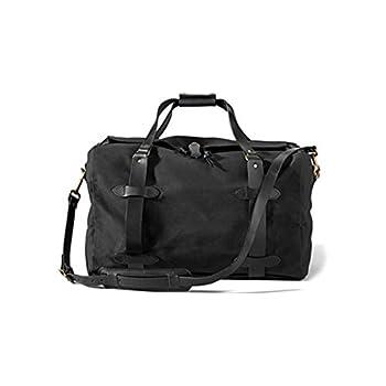 Luggage Filson Small Rugged Twill Duffle Bag 11070220 Black