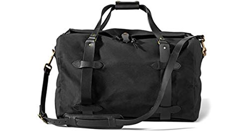 Filson Small Rugged Twill Duffle Bag 11070220 Black