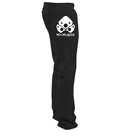 Price comparison product image Overwatch Men's Widowmaker Particular Running Sweatpants For Men Leisure Wear Black M