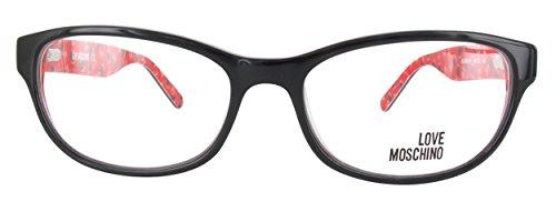 LOVE MOSCHINO Women's Eyeglasses 53 Black ()