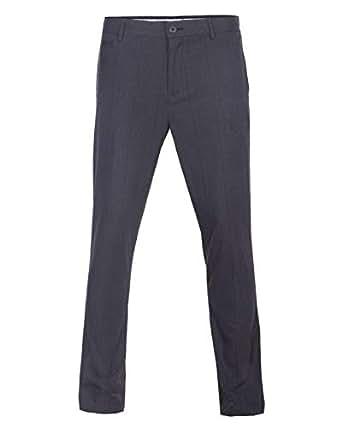 O-Code Grey Slim Fit Trousers Pant For Men