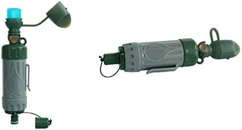 Nrpfell Purificateur deau Multifonction Portable en Plein Air Camping Randonn/ée Survie durgence Filtre /à Eau Potable Direct Alpinisme Filtre de Voyage