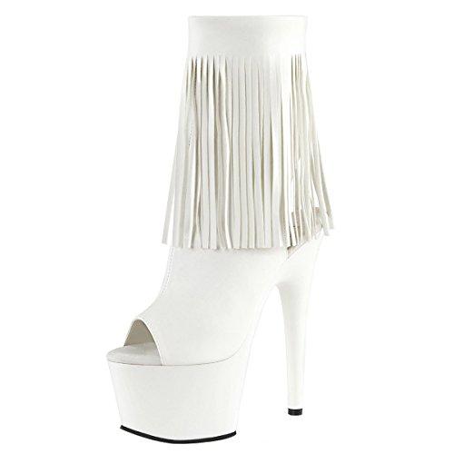 Heels-Perfect - Botas de Material Sintético para mujer Weiss (weiss)