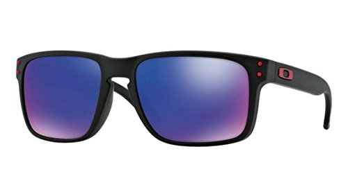 Oakley Holbrook Matte Black w/ Red Iridium 910236 + SD Glasses + - Oakley Edition Limited Sunglasses