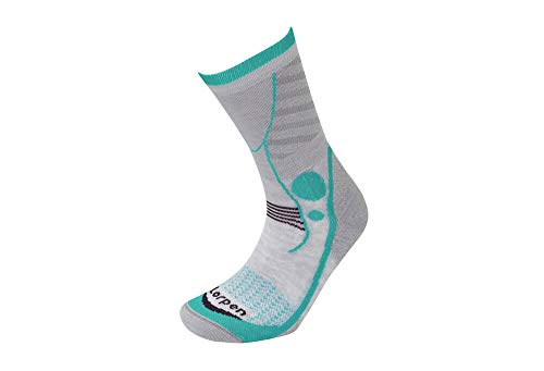 Lorpen Women's T3 Light Hiker Socks, Jade, Small