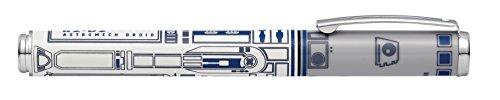 Sheaffer Pop Star Wars R2-D2 Fountain Pen with Chrome Trim and Medium Nib]()