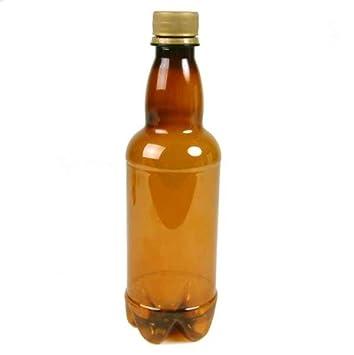 Compra Dowricks Goodlife Ámbar Cerveza Botellas con tapón de Rosca - plástico - 500 ML - 20 Botellas en Amazon.es