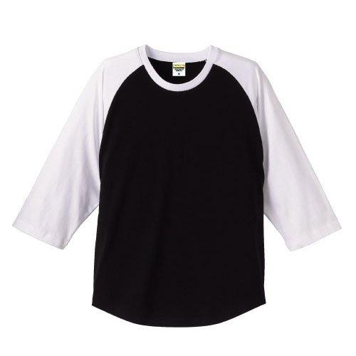 スマッシュ放射能言い訳(ユナイテッドアスレ)UnitedAthle 5.0ozラグラン3/4スリーブTシャツ?S~XLサイズ?