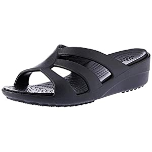 Crocs Sanrah Strappy Wedge Ciabatte Donna 3 spesavip