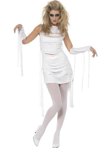 Disfraz de momia para mujer – TG.m-yummy Mummy Halloween Zombie ...