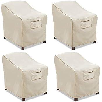 Amazon Com Vailge Patio Chair Covers Lounge Deep Seat
