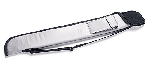 Queue-Tasche Billard Star Silber