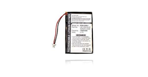 Amazon.com: Dantona 3.7V/1500mAh GPS Battery for Garmin Nuvi ...