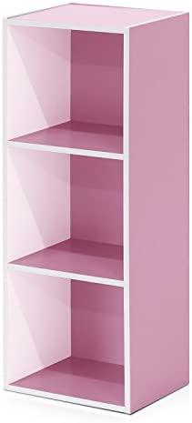 Furinno 3 Tier Shelf Bookcase 11003WH