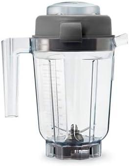 Vitamix VM0137 Mini contenedor húmedo con tamper, plástico: Amazon ...