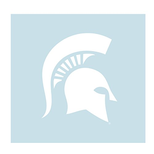 - Craftique Michigan State Decal WHT Spartan Head Decal 12