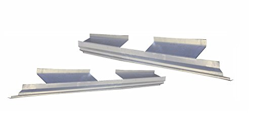 Motor City Sheet Metal - Works With 2009-2014 Ford F-150 4 Door Crew Cab Outer Rocker Panel Pair