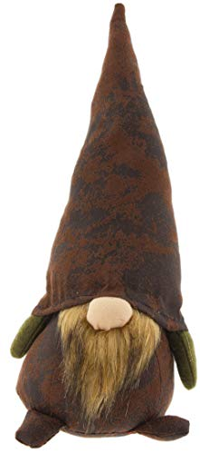 Bearded Felt Gnome Plush Figurine 12