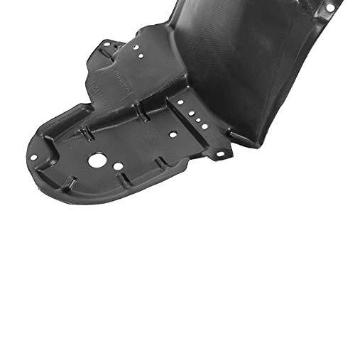 Black Front Left Fender Liner For Toyota Prius 2010-2015 Inner Splash Shield