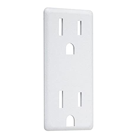 Taymac AD60W Paintable Decorator Outlet Cover Up Adapter Plate