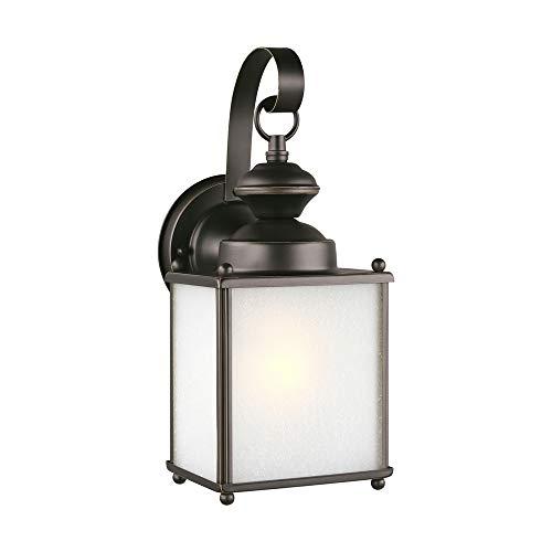 Sea Gull Lighting 84570-71 One Light Outdoor Wall Lantern Antique Bronze