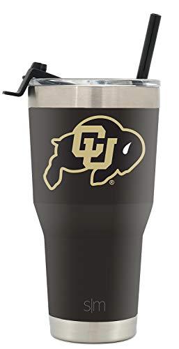 Simple Modern College 30oz Tumbler Straw Colorado