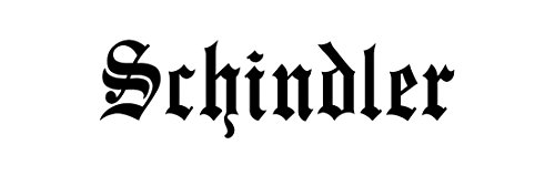 schindler-family-sticker-decal-bumper-window-laptop-old-english-font-black