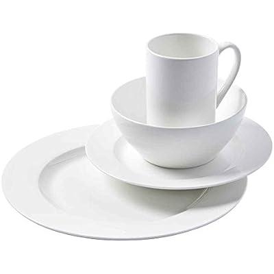 Click for 16 Piece Cascade Bone China Dinnerware Set