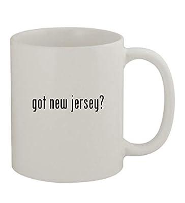 got new jersey? - 11oz Sturdy Ceramic Coffee Cup Mug, White