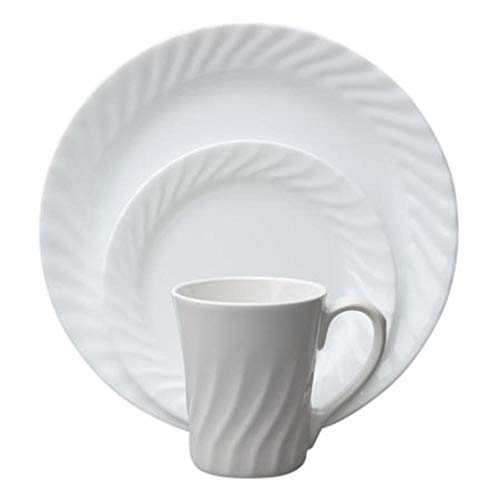 CORELLE Sculptured Dinnerware Enhancements 3-piece set ()