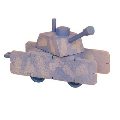 Army Tank Wood Craft Kit