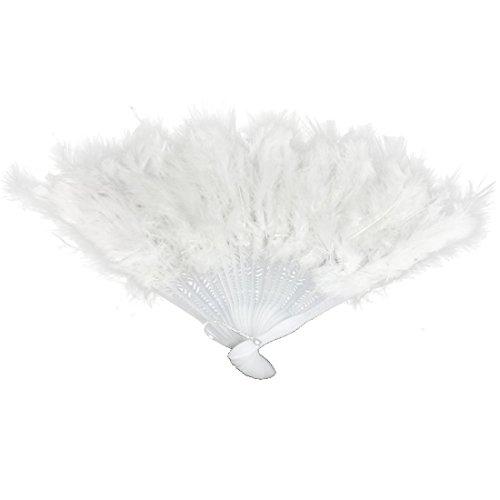 hand feather fan - 7