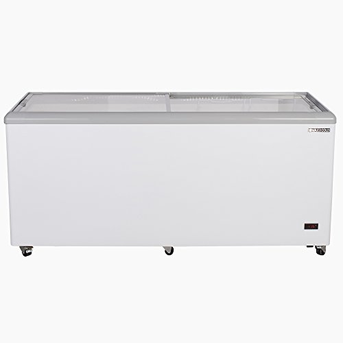 "Maxx Cold MXF71F 71"" 20 cu ft Commercial Mobile Ice Cream Display Freezer"