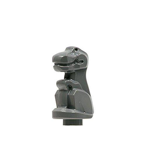 Lego Adventures Baby T-rex Minifigure (Dark Gray)