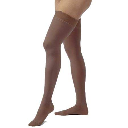 6d4b1b8ffd S , Espresso : COMPRESSION STOCKINGS OPAQUE 20-30 THIGH HIGH CLOSED TOE DOT  ESP SM: Amazon.in: Sports, Fitness & Outdoors