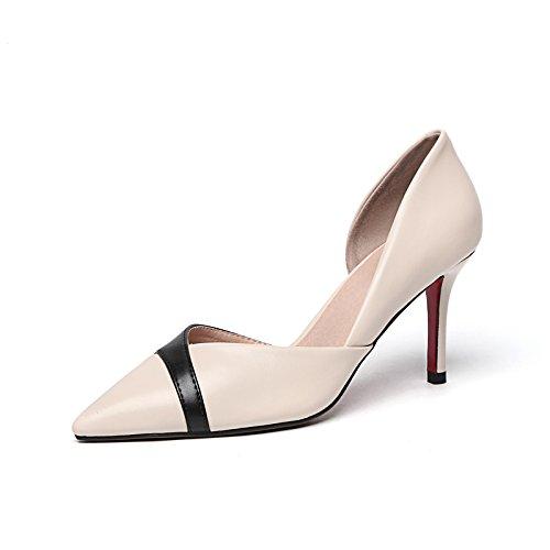 EU36 Chaussures High SHOESHAOGE Heeled Career Minces Femmes Light Femmes Sandales Avec Chaussures Avec qw7Zv