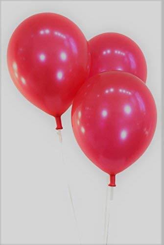 PeaceJoy 12 Latex Balloons 100 per Bag (Red)【クリスマス】【ツリー】 [並行輸入品]   B077QNF28M